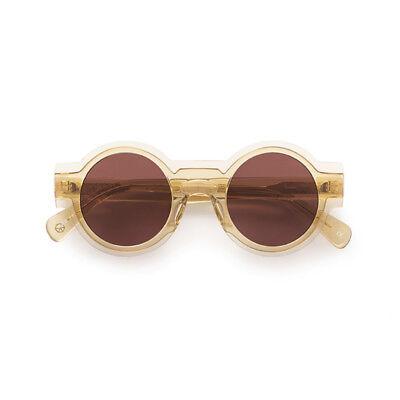 Sunglasses Kaleos Caster C. 010 Champagne Dark Violet 54 100% Authentic New