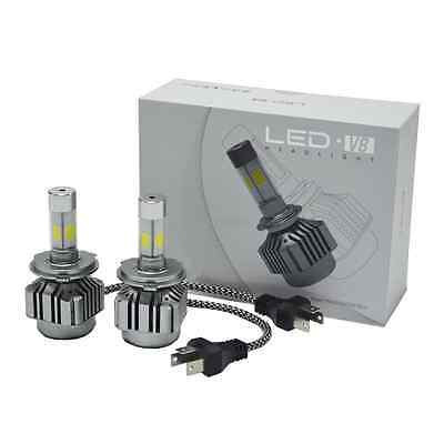 180W 18000lm All-In-One LED Headlight Kit H4 HB2 9003 High/low Beams 6000K Bulbs