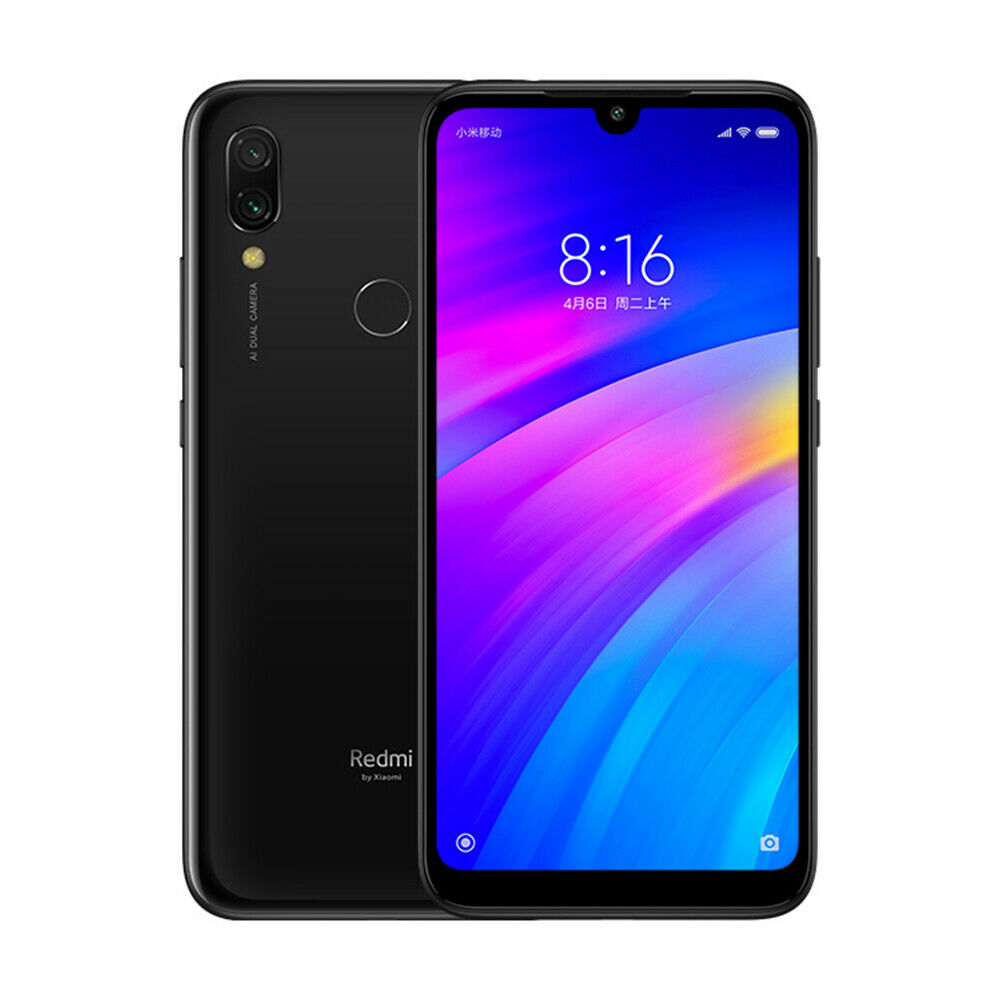 Xiaomi Redmi 7 Smartphone 3GB 32GB Dual Cámaras Versión en Español  Negro