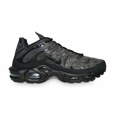 Mens Nike Tuned 1 Air Max Plus TN Decon  - CD0882 001 - Black Leather