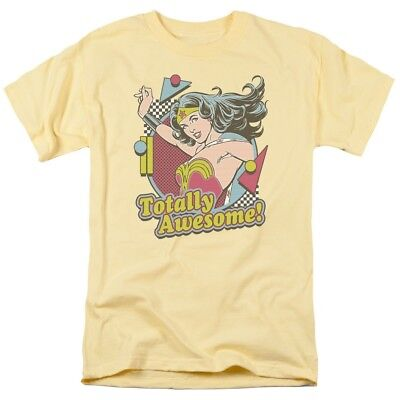 - Wonder Woman - Totally Awesome T-Shirt DC Comics Sizes S-3X NEW