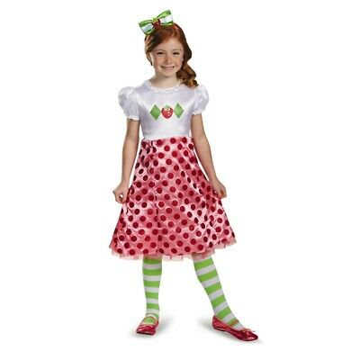 Strawberry Shortcake Classic Child Costume, 84471, - Strawberry Shortcake Costume Girls