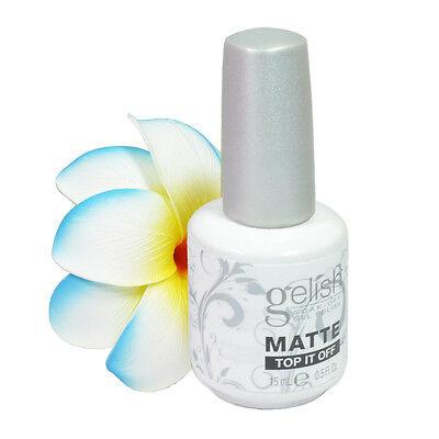Nail Harmony Soak Off Matte Top It Off Gel Nail Polish 0.5floz, 15ml