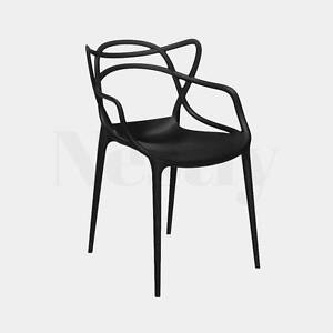SALE. 4 x Replica Phillipe Starck Masters Chair – Black & White Wetherill Park Fairfield Area Preview