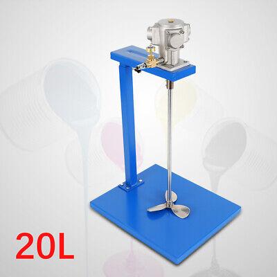Pneumatic Paint Mixer Mixing Machine 20l Air Agitator Coating Blender Disperser
