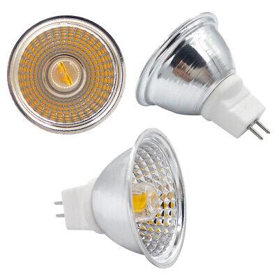 MR16 G5.3/GU5.3 LED Light Cup COB 1511 Spotlight Lamp AC/DC 12V Equivalent 60W ()