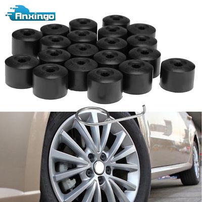 (20 X Lug Nut Bolt Cover Caps Set Free Dismantle Tool for VW Wheel)