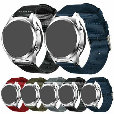 Replacement Nylon Canvas Straps+ Buckle Watch Band To Fit Seiko Army Military US