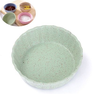Household 4pcs/Set Seasoning Dish Small Plate Food Snack Dish Sauce Plate