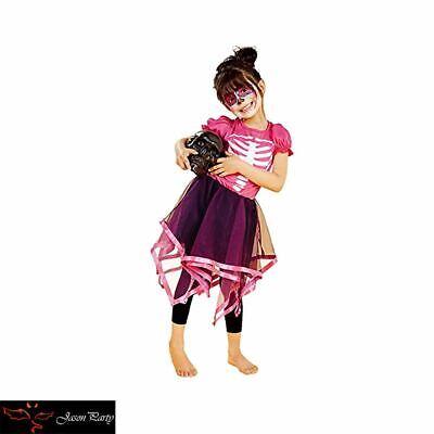 Girls Skeleton Costume Halloween Party Fancy Dress Children Costumes Cosplay - Halloween Party Costumes For Girls