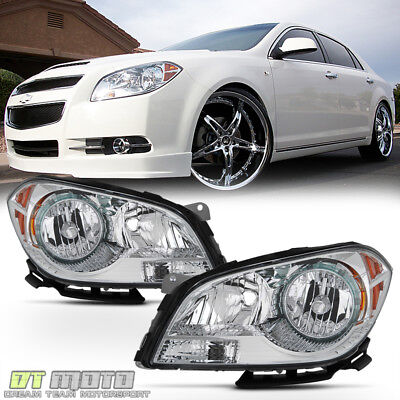 2008 2012 Chevy Malibu Headlights Factory Style Headlamps Replacement LeftRight