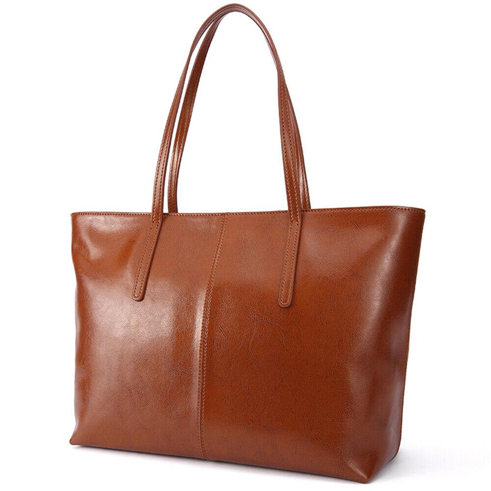 Stiya Designer Tasche Damen Handtasche Shopper Echteder Günstig Geschenk braun