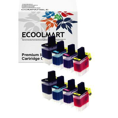 8 * Ink for LC41 Brother Printer MFC-820CW MFC-3240C MFC-3340CN MFC-5440CN LC-41 Brother Mfc 5440cn Printer