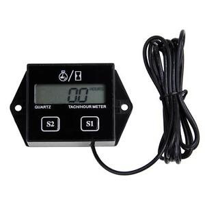 Tachimetri-Contagiri-Motore-Contaore-Digitale-12V-Display-LCD