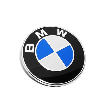BMW Trunk Lid Roundel Badge Logo Emblem 74mm Replacement
