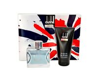 Fathers Day gift DUNHILL LONDON GIFT SET 100ML EDT + 150ML AFTERSHAVE BALM - MEN'S FOR HIM. NEW