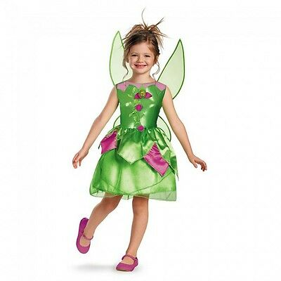 Disney Fairies Tinker Bell Pixie Fairy Classic Toddler Child Costume