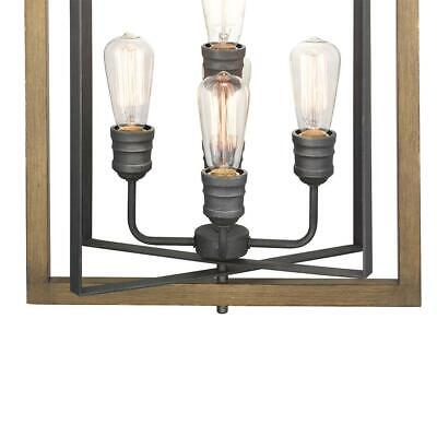 Home Decorators Collection Palermo Grove 5-Light Gilded Iron Pendant