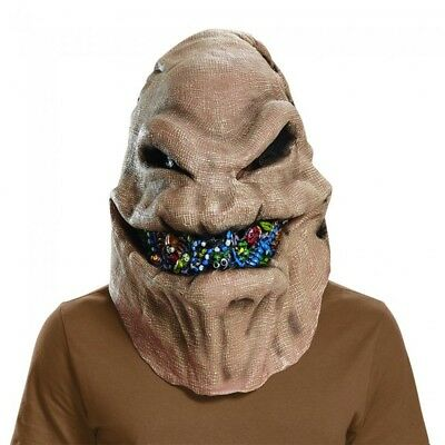 Halloween Before Christmas Costume (Oogie Boogie Mask Nightmare Before Christmas Costume Halloween Cosplay)