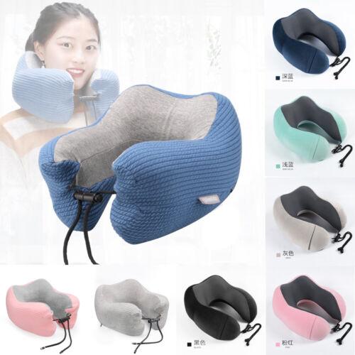 US Memory Foam U Shaped Travel Pillow Neck Support Head Rest
