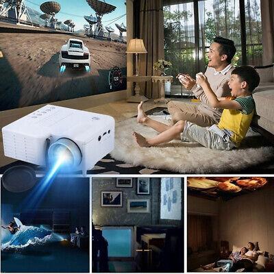Mini Portable Projector Home Family LED HDMI 1080PAV SD USB HomeCinema Projector
