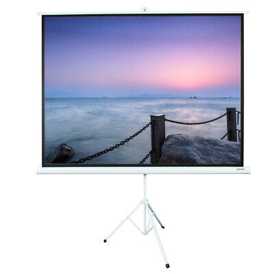 100 43 Hd Portable Pull Up Projection Screen With Stand Tripod Home Theater