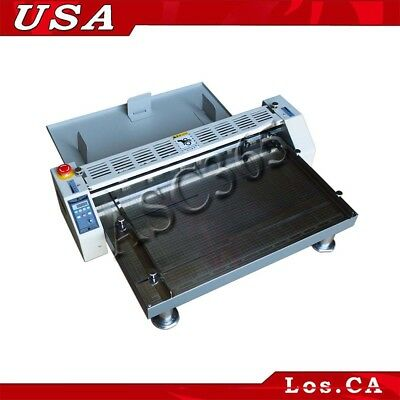 3in1 26 660mm Electric Creaserscorerperforator Paper Creasing Machine 110v