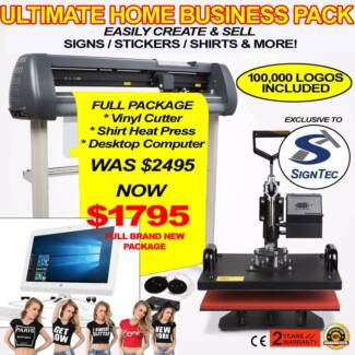 Sign / Sticker / T-Shirt Making Home Business - COMPLETE PACKAGE!