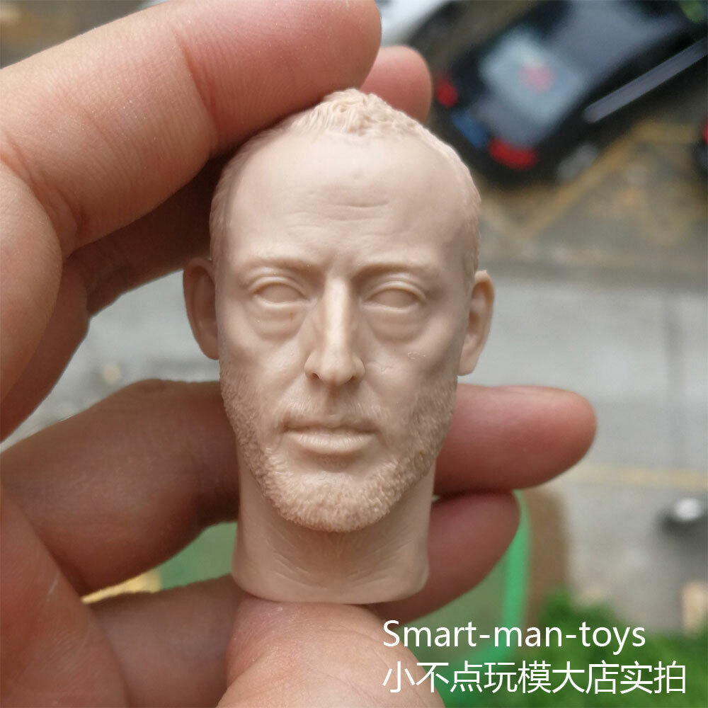 "custom 1//6 scale Head Sculpt JEAN RENO Leon The Professional Fit 12/"" figure"