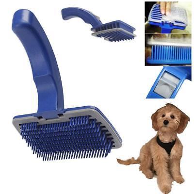 Pet Dog Cat Grooming Brush Self Cleaning Slicker Brush Cat Brush Slicker Brush