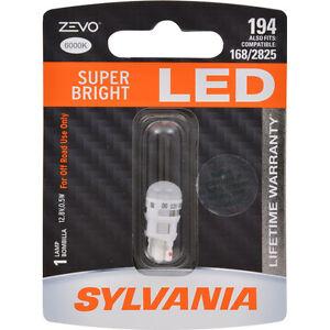 Sylvania ZEVO Two 1 Packs 194ALED LED Bulb Side Marker Turn Signal ss