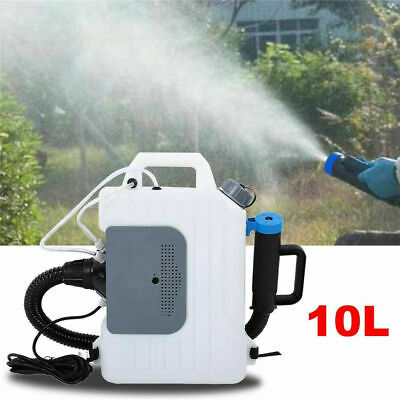 10L Backpack Electric ULV Fogger Sprayer Cold Fogging Machine 220V 1400W
