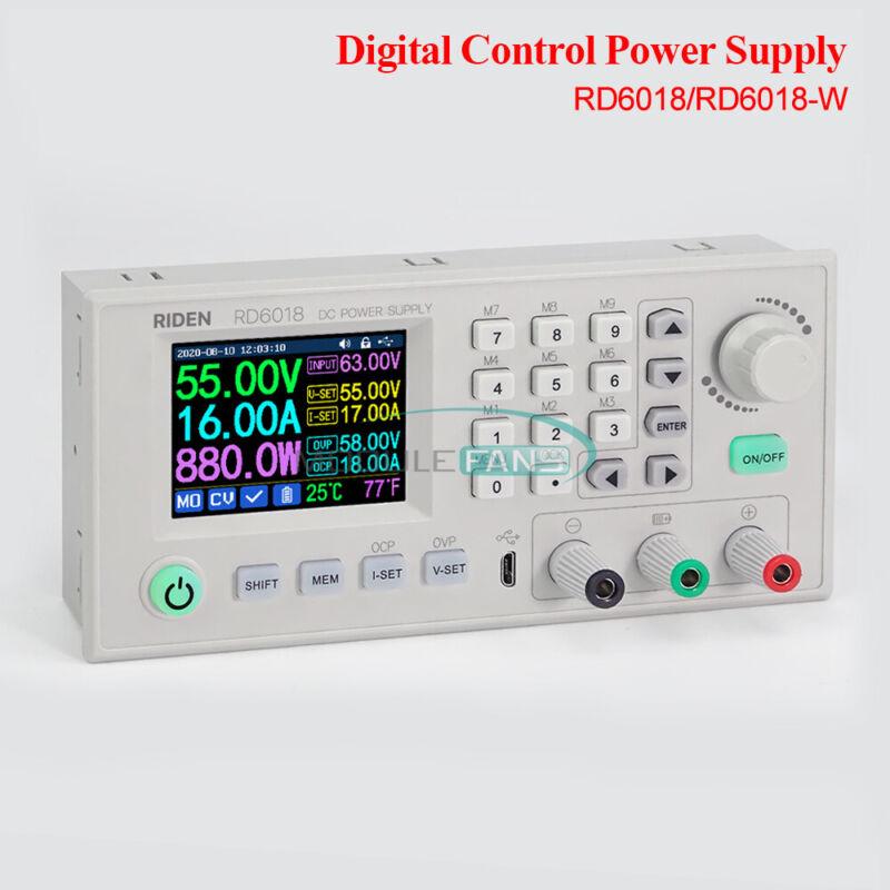 RD6018 RD6018W USB WiFi DC CNC Voltage Step Down Power Supply Buck Converter