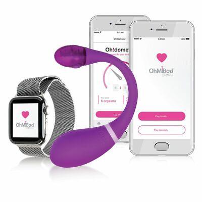 Kiiroo OhMiBod ESCA2 Purple Spiel Von Paar Vibrator App Controlled Bluetooth