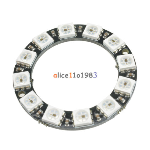 RGB LED Ring 12 Bit WS2812 5050 RGB LED + Integrated Driver Module For Arduino