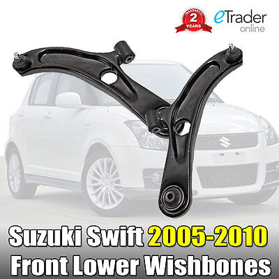 Suzuki Swift 2005-2010 Front Lower Wishbones Arms Suspension Wishbone Pair Arm