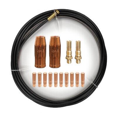 Contact Tips Nozzle Diffuser Liner Fits Linc. Pro-mig 135 140 175 Mig Welder
