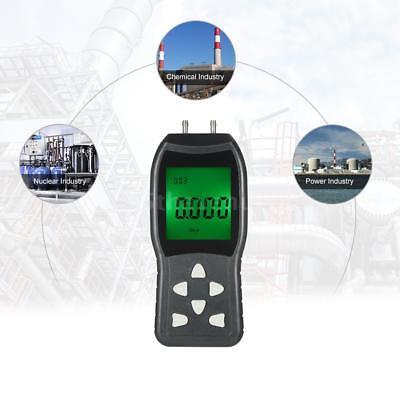 Hochpräzisions-Digital-Manometer zwei Anschlüssen Differenzdruck-Manometer L7D3