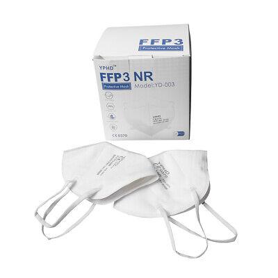 25 Stück CE certified FFP3 Atemschutzmaske Schutzmaske Mundschutz Gesichtsmaske