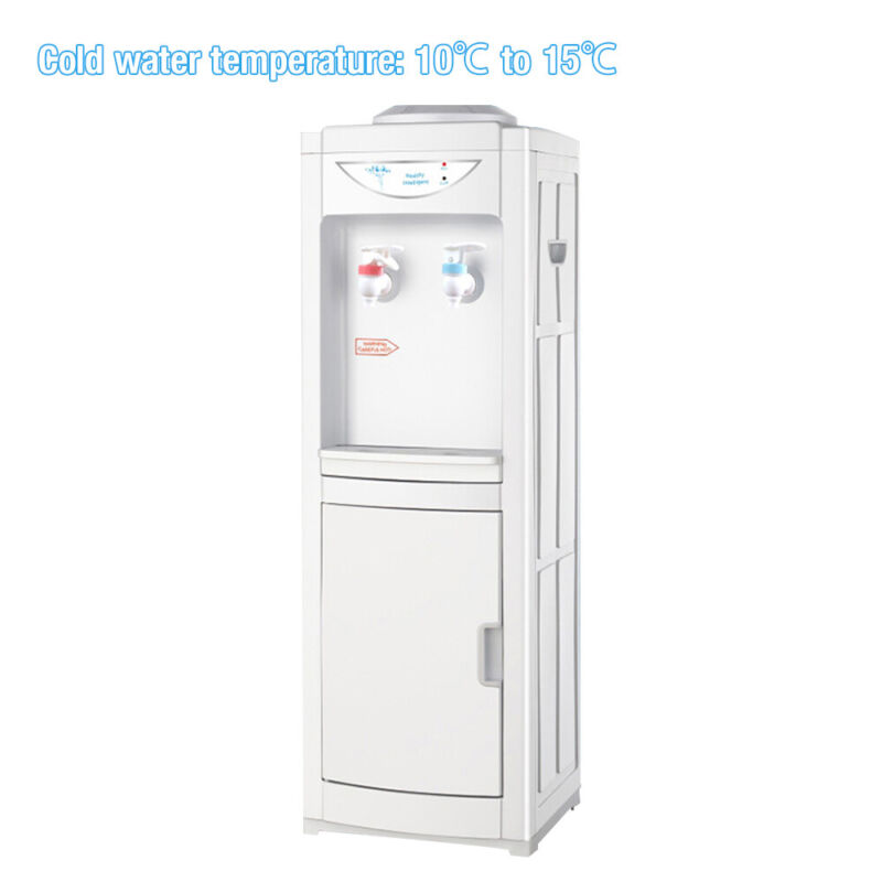 Hot&Cold Water Cooler Dispenser Free standing 5 Gallons Top Loading Office