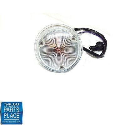 1969 Camaro Standard Park Lamp Lens Housing Assembly Kit Each Camaro Park Lamp Lens