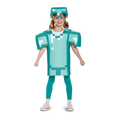 Kids Minecraft Armor Classic Halloween Costume - Classic Kid Halloween Costumes