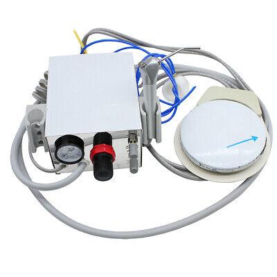 New Portable 4-hole Dental Lab Air Turbine Unit3 Way Syringefor Air Compressor