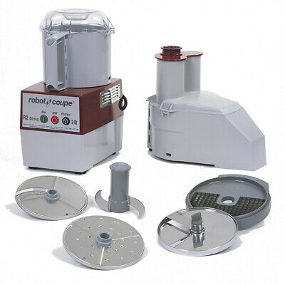 Robot Coupe R2 Dice Food Processor Includes 2 Discs And 10mm Dicing Kit