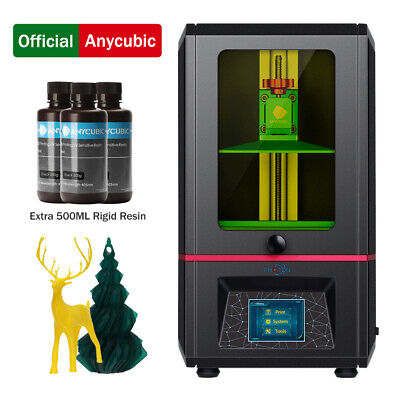 ANYCUBIC SLA Photocuring Photon 3D Printer UV Light Cure Off-line + 500ml Resin