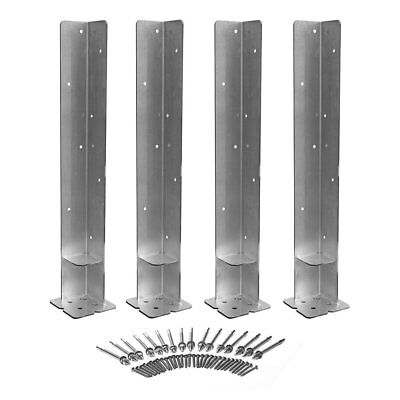 Weatherables Concrete Mounting Kit for Imperial, Royal, & Elizabethan Arbors