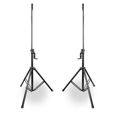 Pair of Professional Heavy Duty DJ PA Speaker Stands 70kg Max Load - Vonyx LS93 for sale  Shipping to Ireland