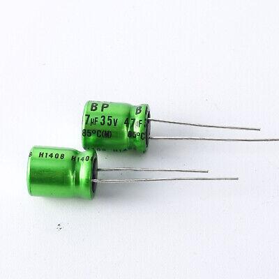 Japan 2pcs Nichicon Muse Es Bp 47uf 35v 47mfd Audio Capacitor Caps
