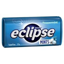 Wrigley's Eclipse Sugar Free Peppermint Mints Small Tin 17 gram