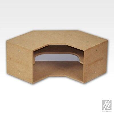 Eck Regal Modul (Corner Shelves Module) MWS HobbyZone Ordnungssysteme Ecke offen